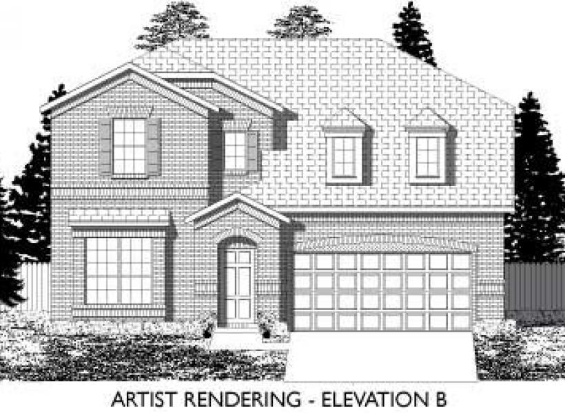 Galveston,  - Elevation B