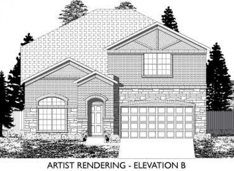 Laredo,  - Elevation B