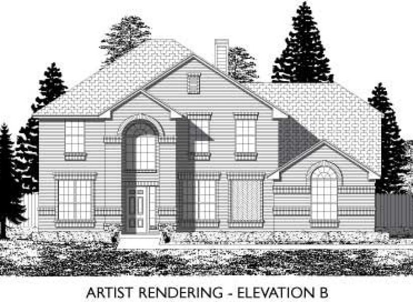 Danbury,  - Elevation B