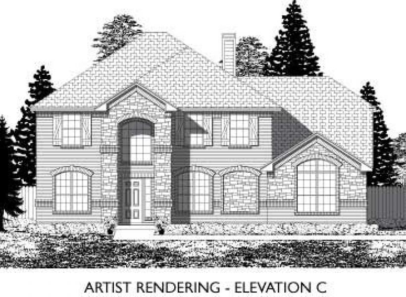 Danbury,  - Elevation C