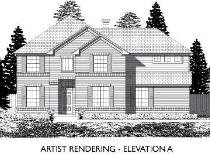 Leyland,  - Elevation A