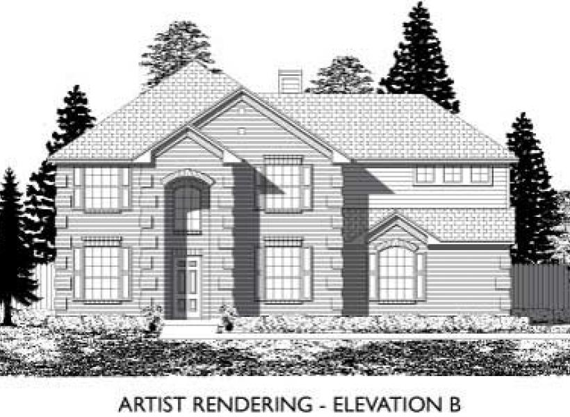 Leyland,  - Elevation B
