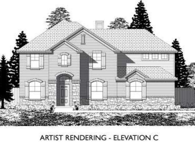 Leyland,  - Elevation C
