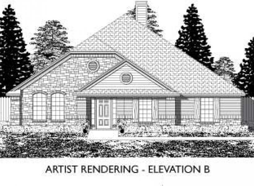 Wickford,  - Elevation B
