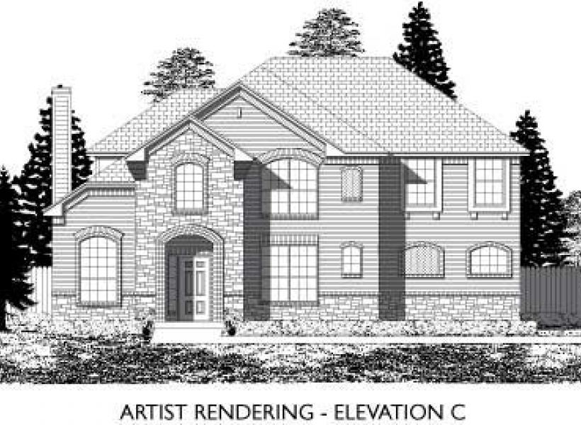 Hemphill,  - Elevation C