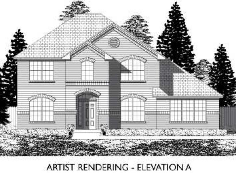 Marlow,  - Elevation A