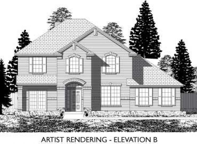 Marlow,  - Elevation B