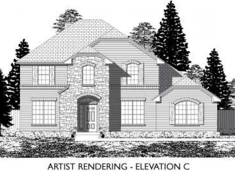 Marlow,  - Elevation C