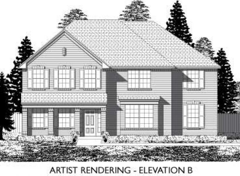 Devonshire,  - Elevation B