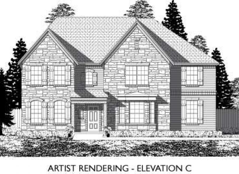 Devonshire,  - Elevation C
