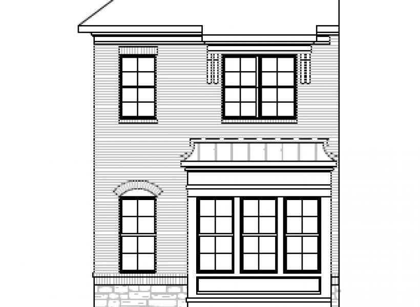The Hayes, Raleigh - Elevation A