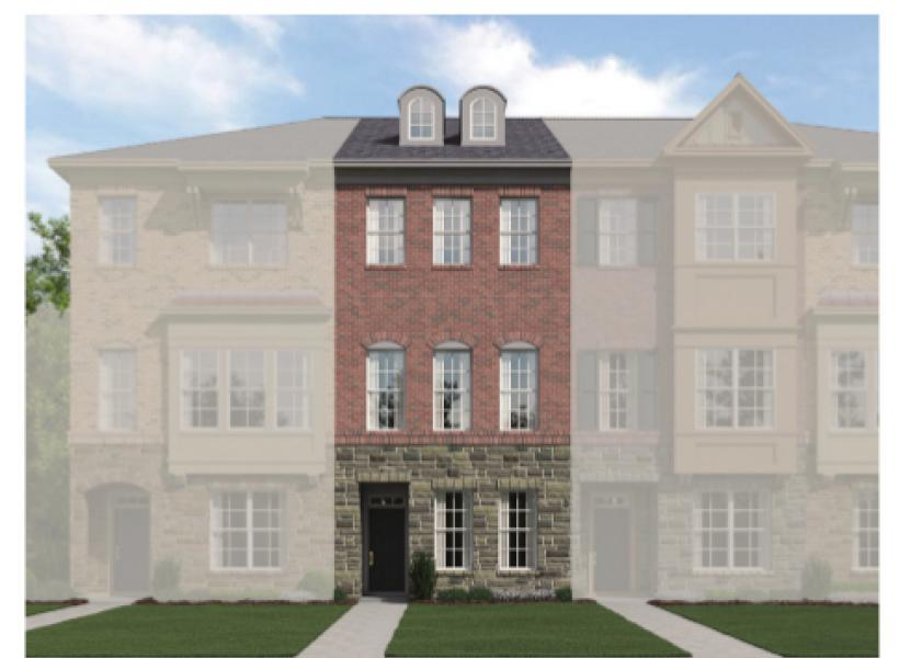 The Catherine, Raleigh - Elevation A