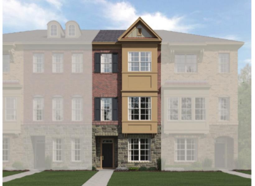 The Catherine, Raleigh - Elevation B
