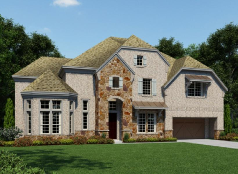 Bellagio New Home Plan For Southern Trails 85ft Community