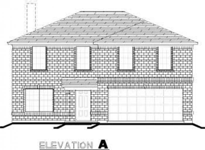 Stockard,  - Elevation A