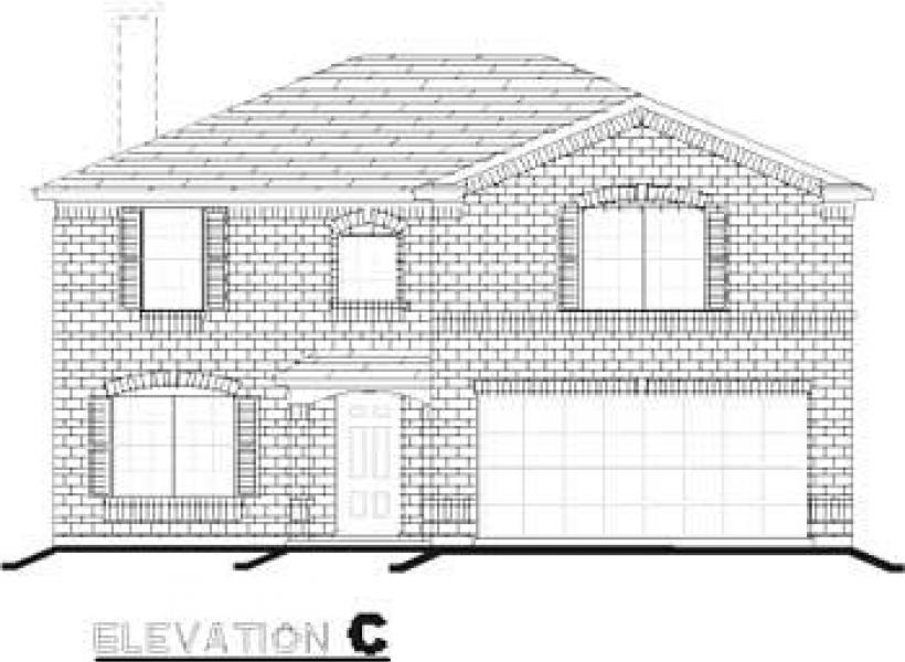 Stockard,  - Elevation C
