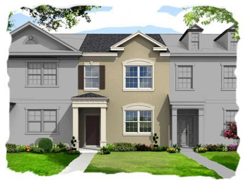 Brentwood,  - Elevation A