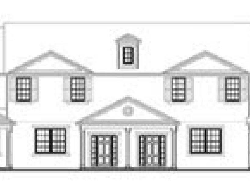 Carrboro,  - Elevation A