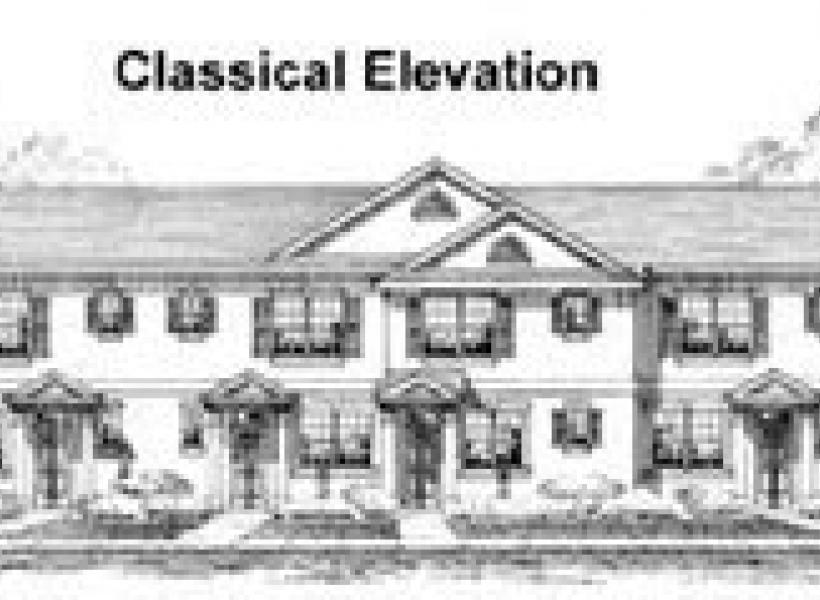 Lexington,  - Elevation A