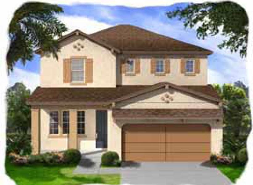 Selmon New Home Plan For Waterset Classic Community In
