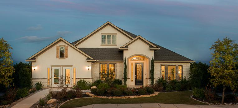 Front Gate At Fair Oaks Ranch New Homes In Boerne Tx